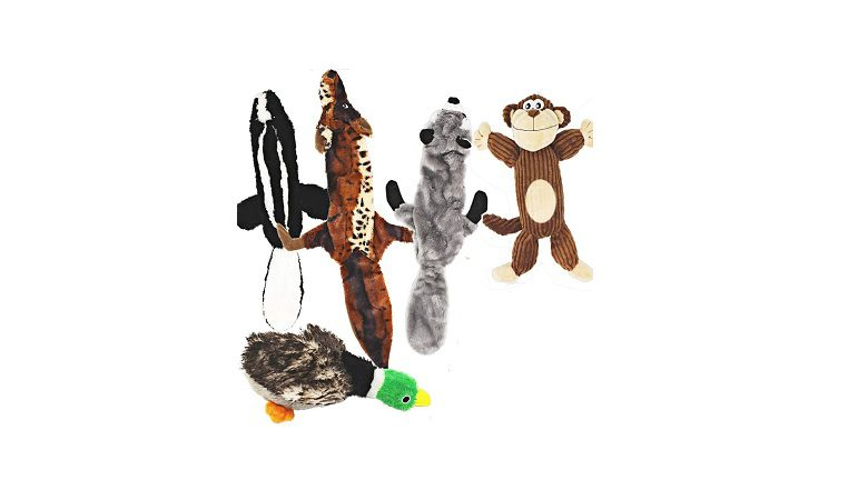 Jalousie 5 Pack Dog Squeaky Toys