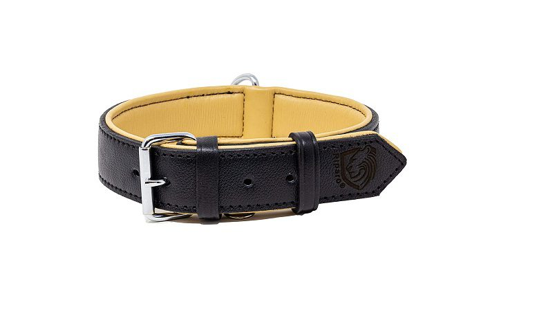 Riparo Genuine Leather Padded Collar