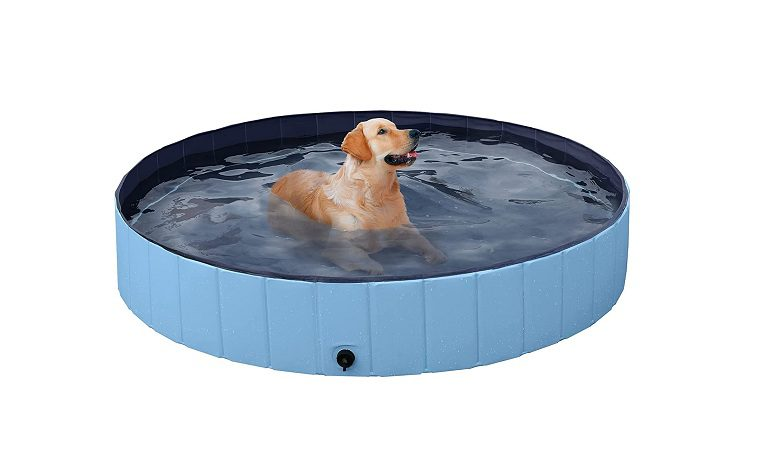 YAHEETCH Foldable Dog Pool